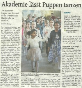 Pressebericht ST